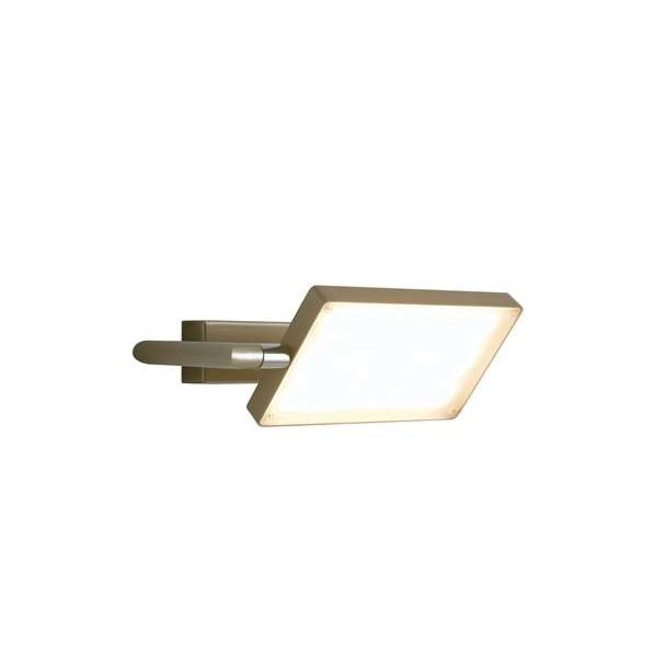 Applique LED BOOK 17W 1300LM 3200K 300° Aluminium Or Satiné