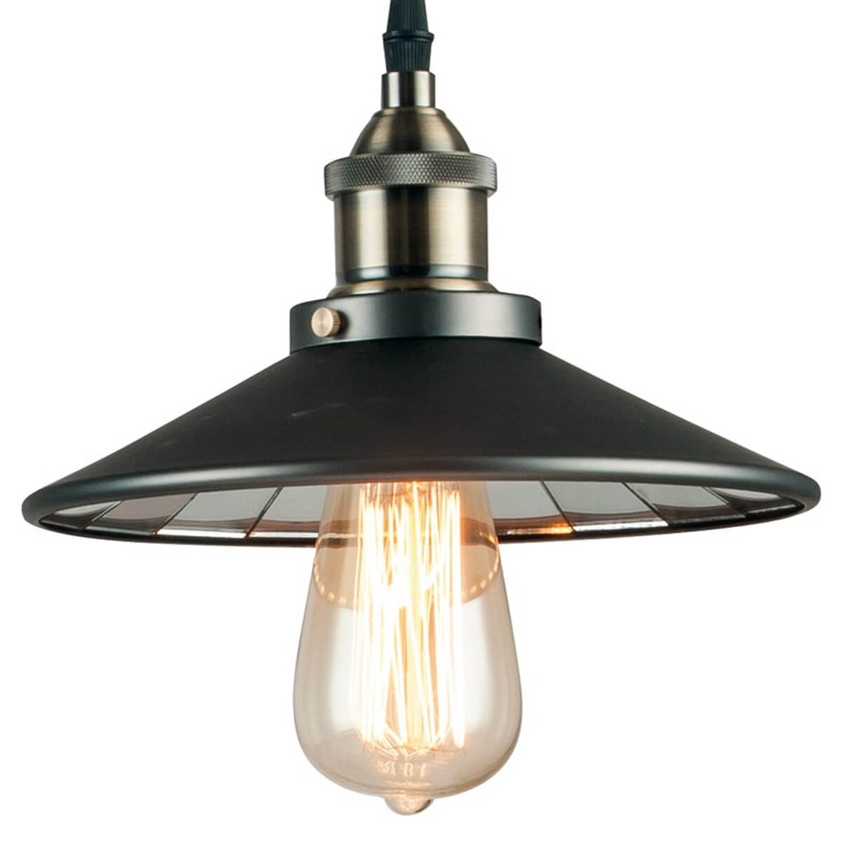 Lampe A Poser Arkita 1xe27 Metal Avec Decoration Verre Miroir