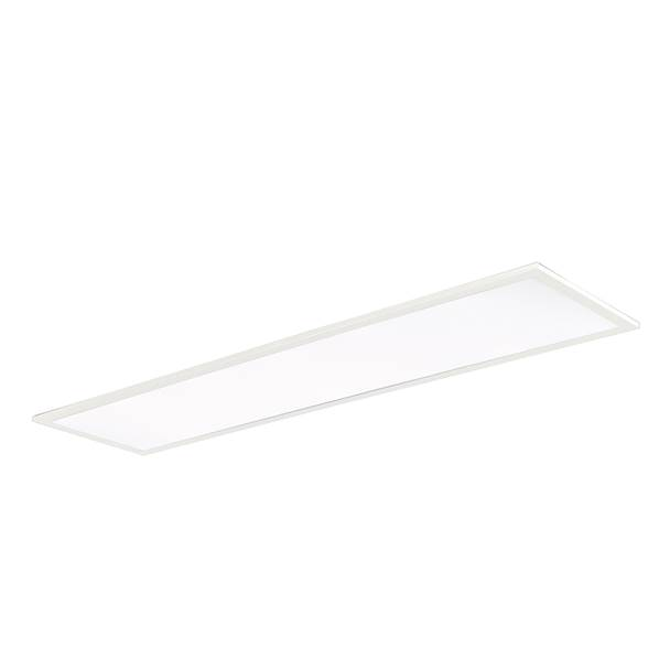 Dalle LED 40W 4000K 3600lm 30x120cm 120° Dimmable Aluminium Blanc