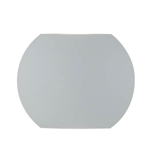 Applique murale LED MIURA 2x3W 3000K 520lm 110° IP54 Dimmable Aluminium Blanc