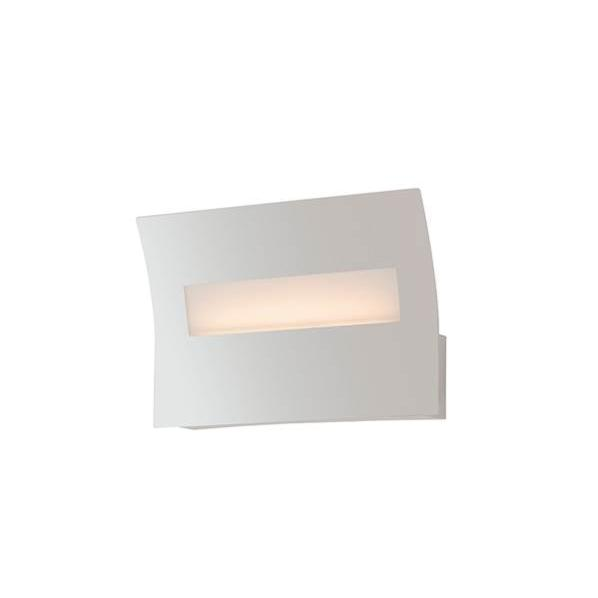 Applique LED HORIZON 6W 450LM 4000K Métal Blanc Stratifié