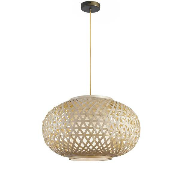 Suspension ZEN 1xE27 ø70cm Bambou Naturel