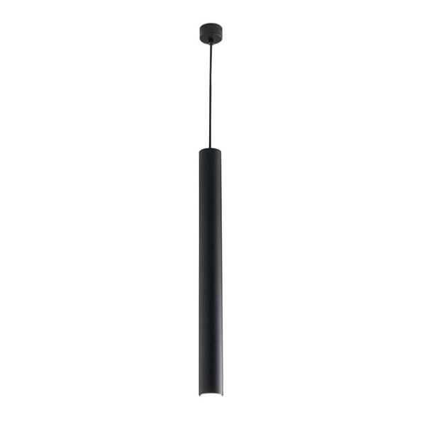 Suspension LED FLUKE 1xGU10 ø5,5cm Aluminium Noir
