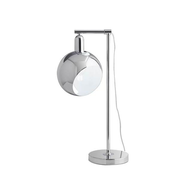 Lampe Led A Poser Narciso 1xe27 Orientable Metal Chrome