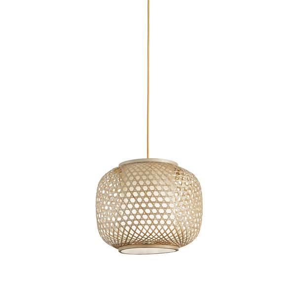 Suspension ZEN 1xE27 ø30cm Bambou Naturel