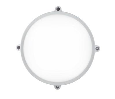 Plafonnier LED EVER 20W 1600lm 4000K 120° IP65 PC Blanc et Diffuseur Opale
