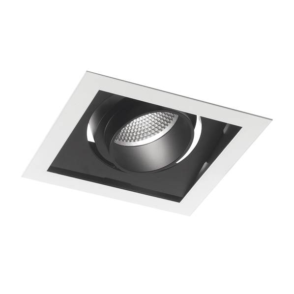 Spot encastré Orientable LED APOLLO 30W 3000K 2400lm 40° Blanc