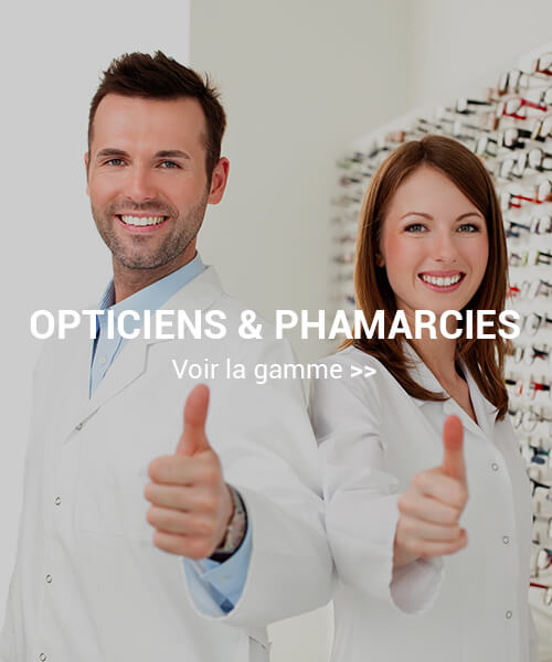 éclairages d'opticiens et pharmaciens