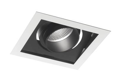 Spot encastré Orientable LED APOLLO 45W 3000K 3600lm 40° Blanc