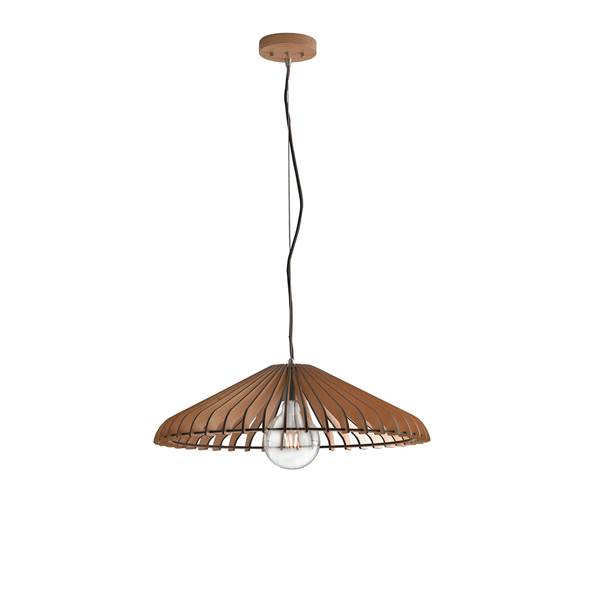 Suspension CALDER 1xE27 ø30cm Bois Naturel