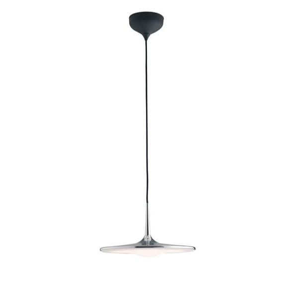 Suspension LED IKON 36W 2880LM 4000K 180° Dimmable ø42,2cm Métal Chromé